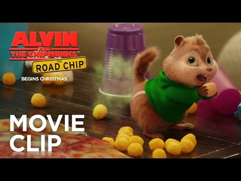 "Alvin and the Chipmunks: The Road Chip | ""Pizza Toots"" Clip [HD] 