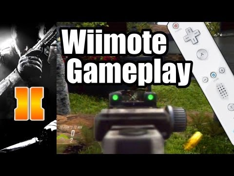 Black Ops 2 - Wii U Gameplay with Wii Remote First Look Ever!