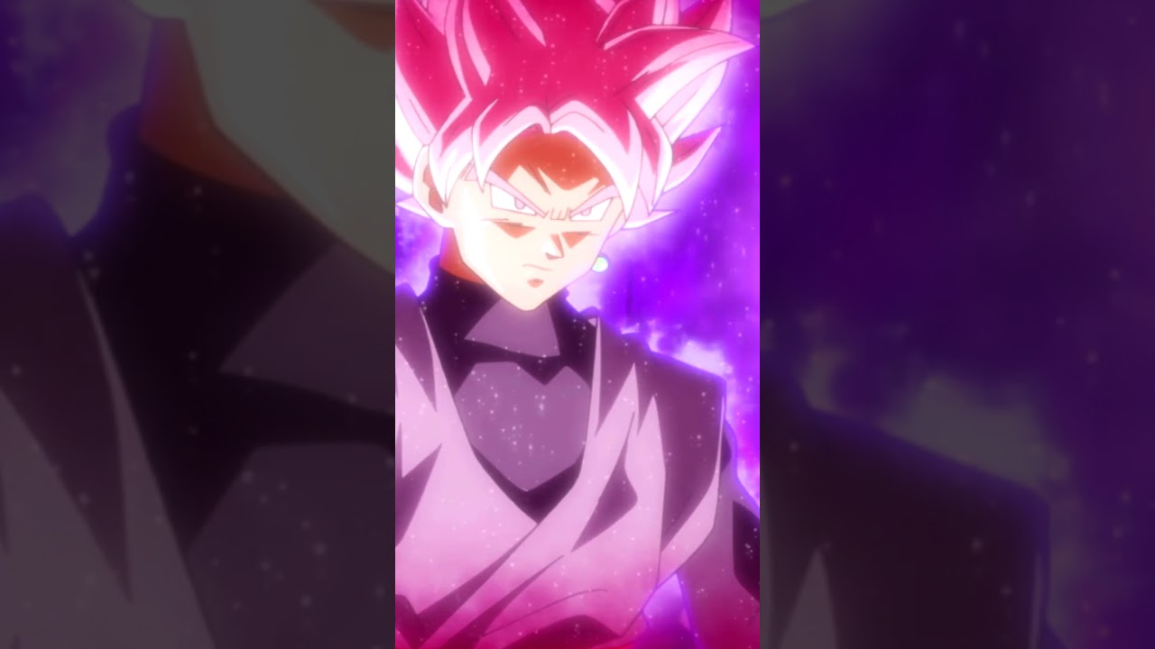 4 Live Wallpaper Goku Black Super Saiyan Rose Youtube