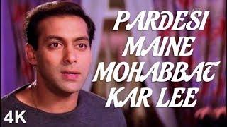 Pardesi Maine Mohabbat Kar Lee    Salman Khan Composes a Song   Salman K   Rani M   4K    HD Audio