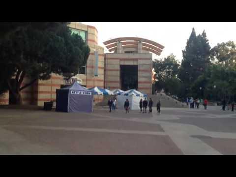UCLA Campus Walkthrough - Bruin Walk