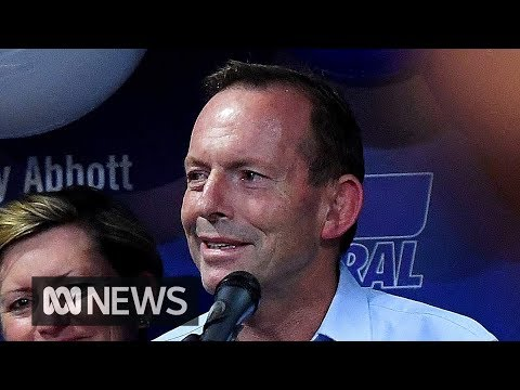 """""""I would rather be a loser than a quitter"""": Tony Abbott loses Warringah 