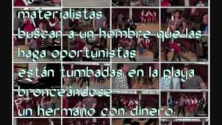 Glee - bust a move (letra en español)