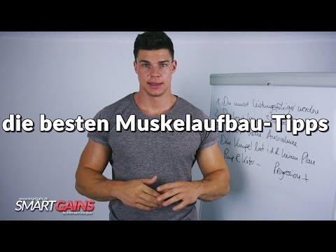 die besten Tipps für Muskelaufbau | Grundregeln für deinen Erfolg