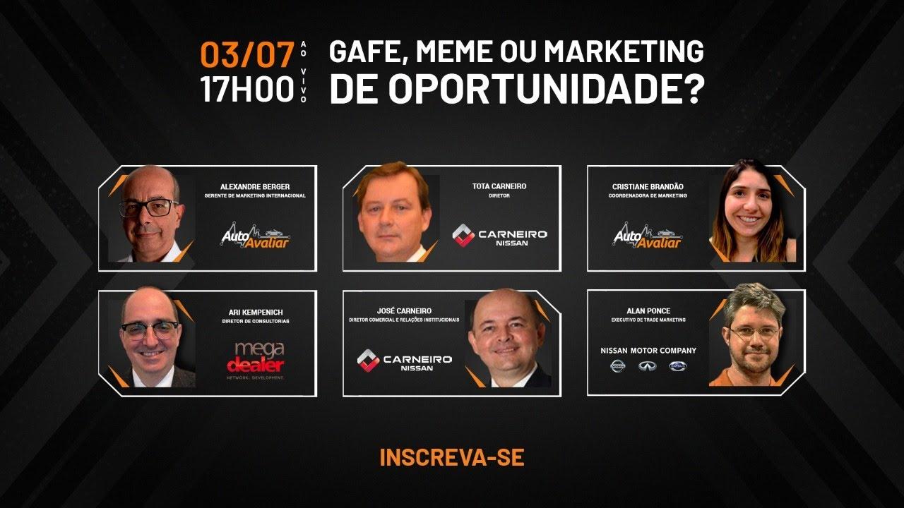 Gafe, meme ou Marketing de Oportunidade?