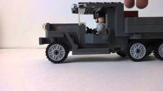 Lego WWII Russian GAZ Review