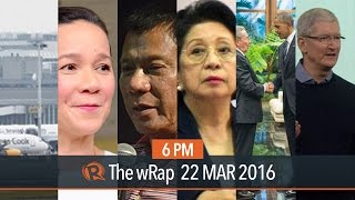 Brussels blasts, Pulse Asia survey, CA on Binay | 6PM wRap(HIGHLIGHTS 0:09 A series of bomb explosions rock Belgium, 13 dead 0:44 Pulse Asia: Duterte ties Poe, Sotto and Drilon lead senatorial race 1:38 CA junks ..., 2016-03-22T11:47:42.000Z)