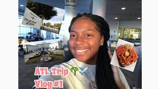 ATL TRIP 🌴✈️|| Vlog #1💕|| Tyler Perry Studios?‼️|| Rick Ross House? 😳|| A'Niyah W.