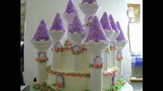 princess castle cake.wmv