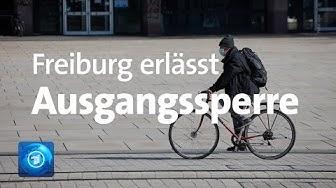 Freiburg erlässt eingeschränkte Ausgangssperre - Oberbürgermeister begründet extremen Schritt