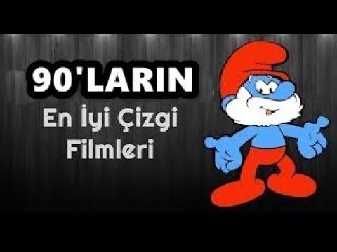 90'LARA DAMGA VURAN EFSANE ÇİZGİ FİLMLERİ !!!