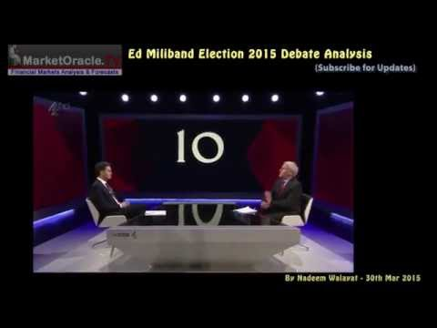 Ed Miliband Debate Election 2015 Analysis - Labour Spending, Debt and Economic Collapse