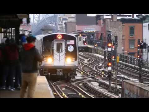 Riding R179's on the J Train