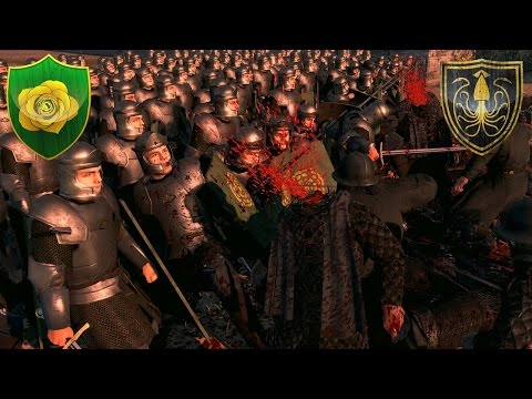 House Greyjoy and the Ironborn Invade the Reach - Seven Kingdoms Total War Multiplayer Battle