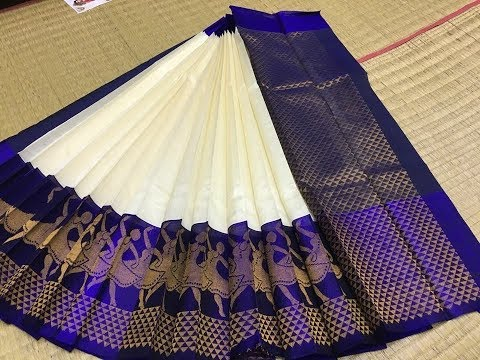 Pure Handloom Korvai Silk Cotton Sarees with Price 6300/- | Million Designs