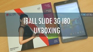 iBall Slide 3G i80 Unboxing