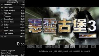 Resident Evil 3 Speedrun Any% 46 minutos?