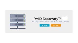 DiskInternals RAID Recovery™ for RAID 0-6 etc.