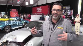 USA: Crashed 1987 Porsche 959 goes under the hammer for at least $450,000