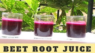 Samayal in Tamil | Healthy Beetroot juice with Carrot, Ginger & Lemon | Detox & Weight loss drink