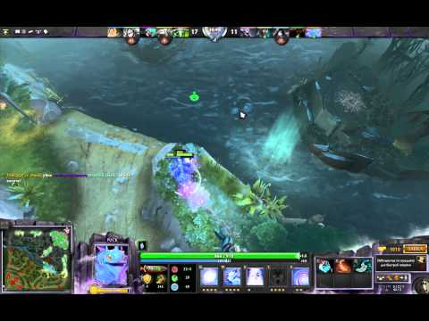 First video from dota2 (PUCK, lose game)