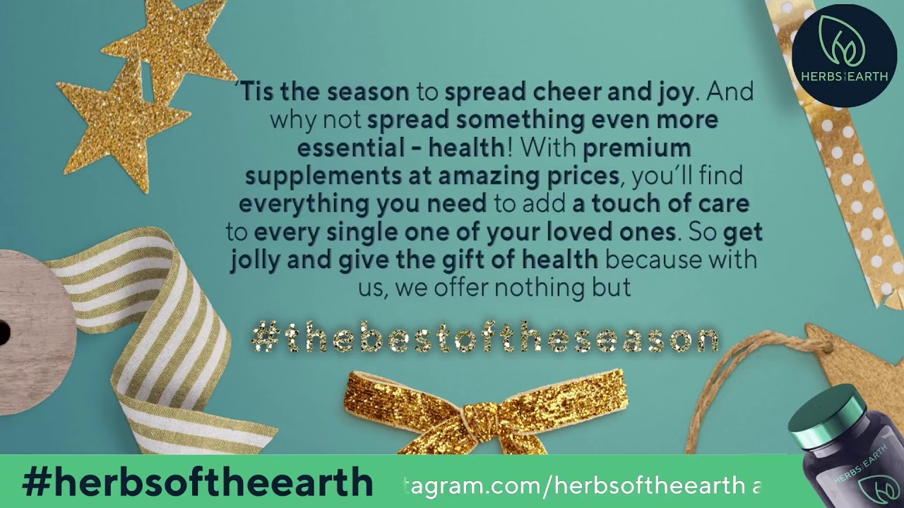 Health Hacks for the Holidays 5.0 from Herbs of the Earth