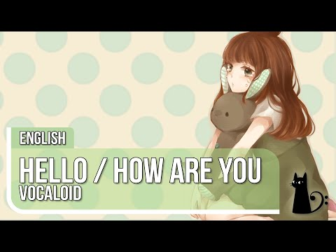 """""""Hello/How Are You"""" (jazz arrange) English Cover by Lizz Robinett"""