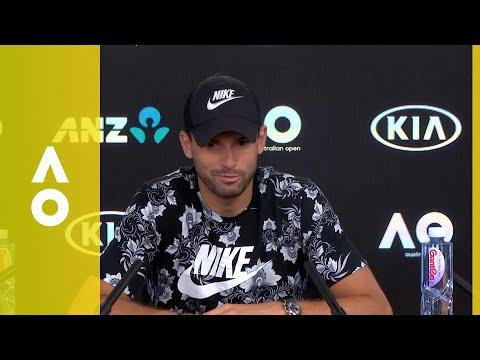 Grigor Dimitrov press conference (QF) | Australian Open 2018