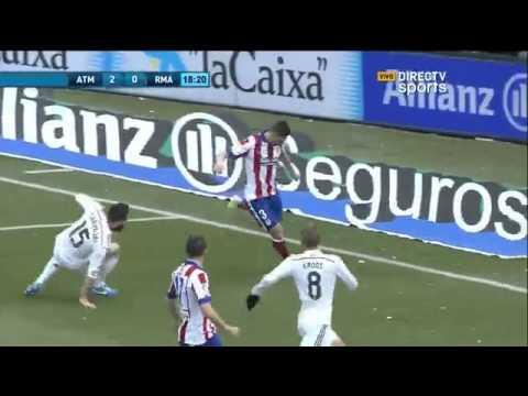Atletico de Madrid 4 - 0 Real Madrid Liga BBVA 2015 - Directv sports