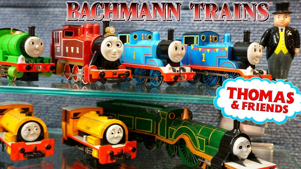New Bachmann Trains Thomas and Friends Tank Engines 2019 New Red Rosie HO  Scale