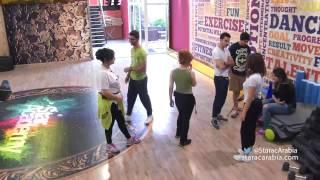 غادة تحاول اثارة غيرة مدرب الرياضة مرسيلينو - ستار اكاديمي 10 - Ghada Marcelino Star Academy 10