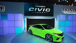 Honda Concept Car Wows NY International Auto Show
