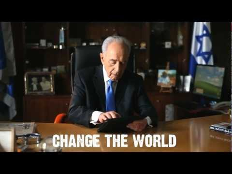 President Shimon Peres - Be My Friend For Peace (Noy Alooshe Remix Video) on YouTube