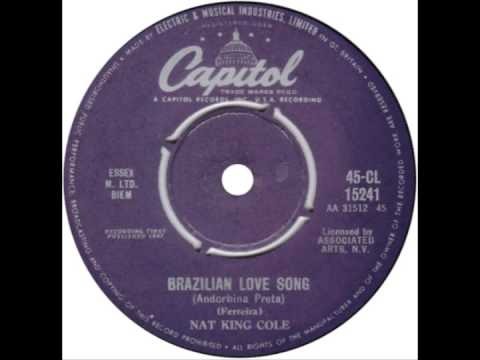 "Nat King Cole -- ""Brazilian Love Song"" (UK Capitol) 1962"