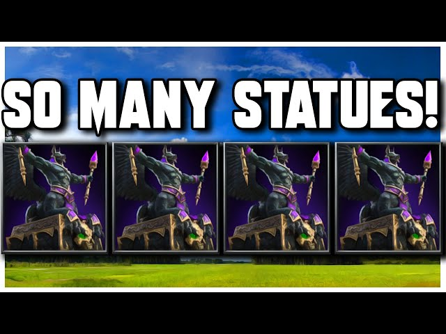 Grubby | WC3 | So Many STATUES!