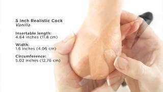 Vac-U-Lock - 5 Inch Realistic & CodeBlack 7.5 Inch Realistic Attachment
