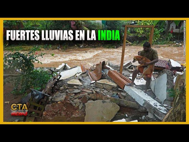 India: Aumentan los muertos por Inundaciones y deslizamientos de tierra por las fuertes lluvias