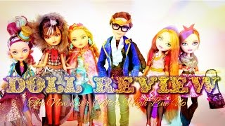 Doll Review:  Ever After High Update | Legacy Day, Dexter Charming, Holly & Poppy