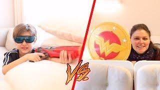 Nerf vs Super Hero Girl War
