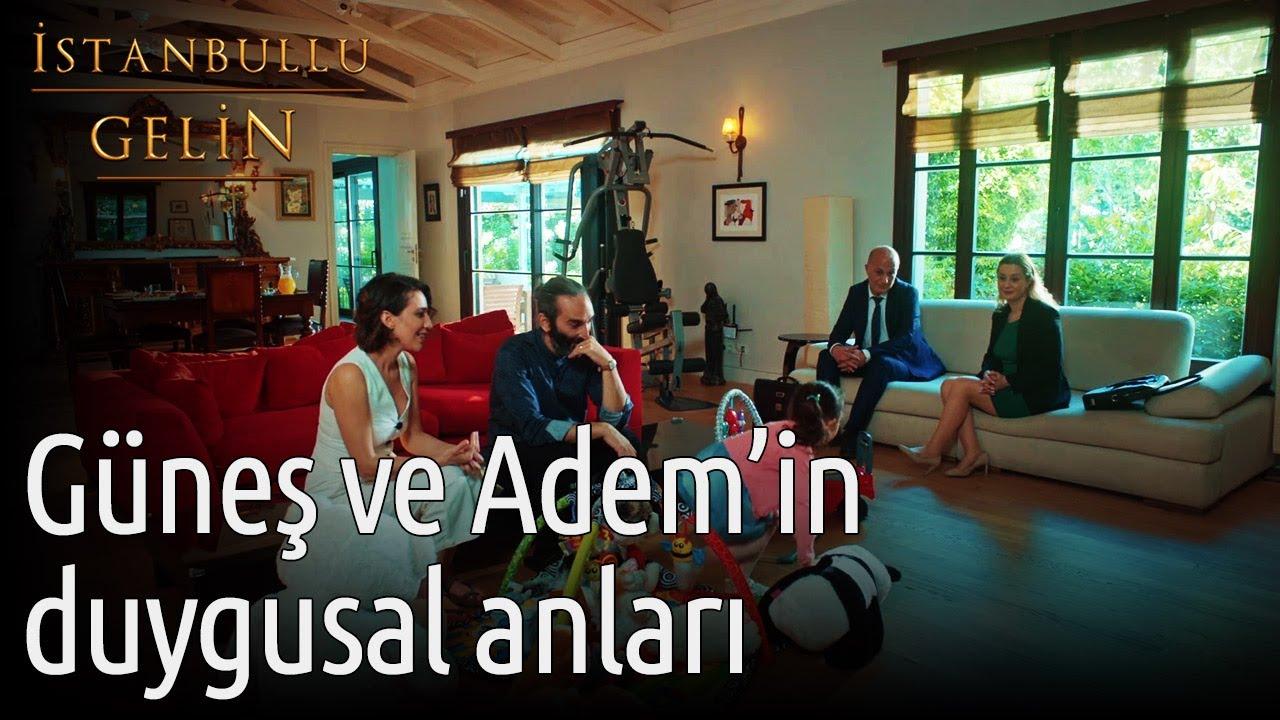İstanbullu Gelin | Güneş ve Adem'in Duygusal Anları