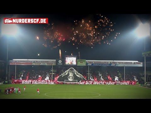 SC Freiburg - FC Bayern München // Magie - Choreo (Feuerwerk)