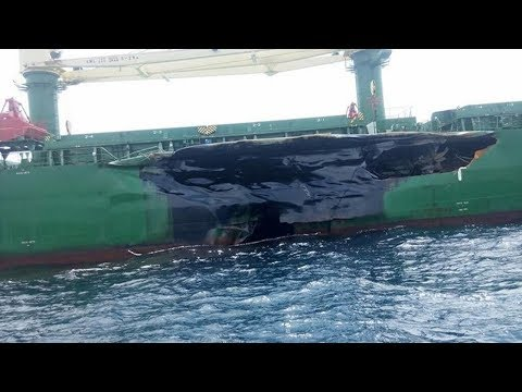 Bulk Carrier and Tanker Collision