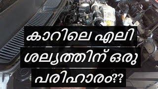 കാറിലെ എലി ശല്യത്തിന് ഒരു പരിഹാരം??, 3M Rodent Repellent Spray Applied on my car | Vandipranthan