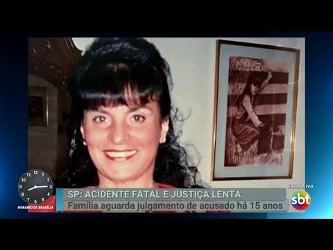 Família cobra justiça para mulher atropelada em 2003 na Paulista   Primeiro Impacto (22/03/18)