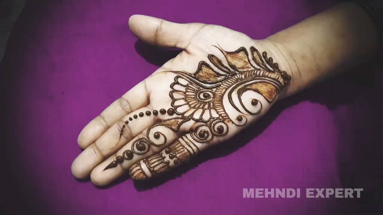 Mehndi For Thin Hands : Small and simple mehndi designs for hands easy unique art