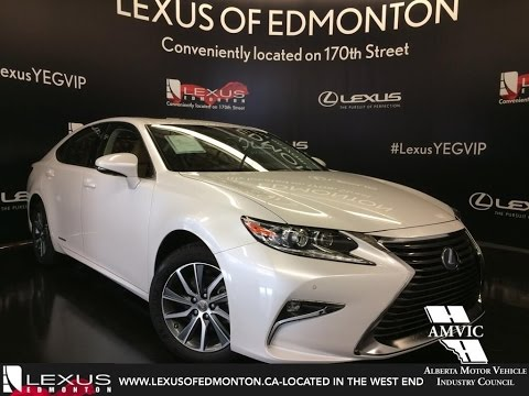 2017 Lexus Es 300h Hybrid Review