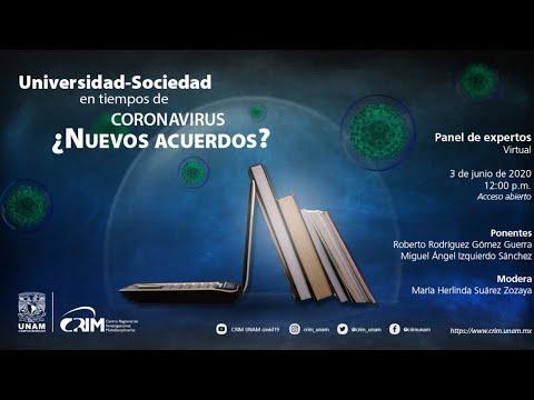 Universidad-Sociedad en tiempo de coronavirus ¿Nuevos acuerdos? [363]