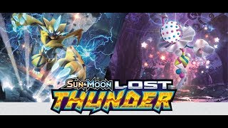 Opening 25 Lost Thunder booster packs on PTCGO