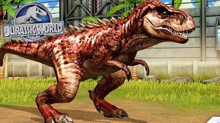 JURASSIC WORLD - T-Rex GEN 2 Level Máx! Aí Sim!