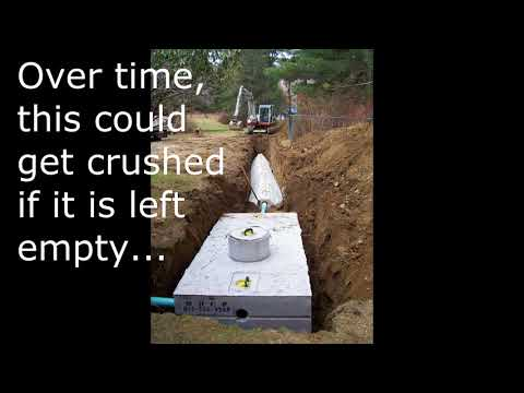 SHOULD PREPPERS BURY SEPTIC TANKS FOR BUNKERS SHELTERS STORAGE?